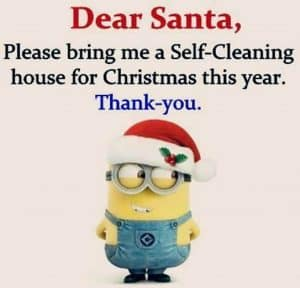 christmas clean up
