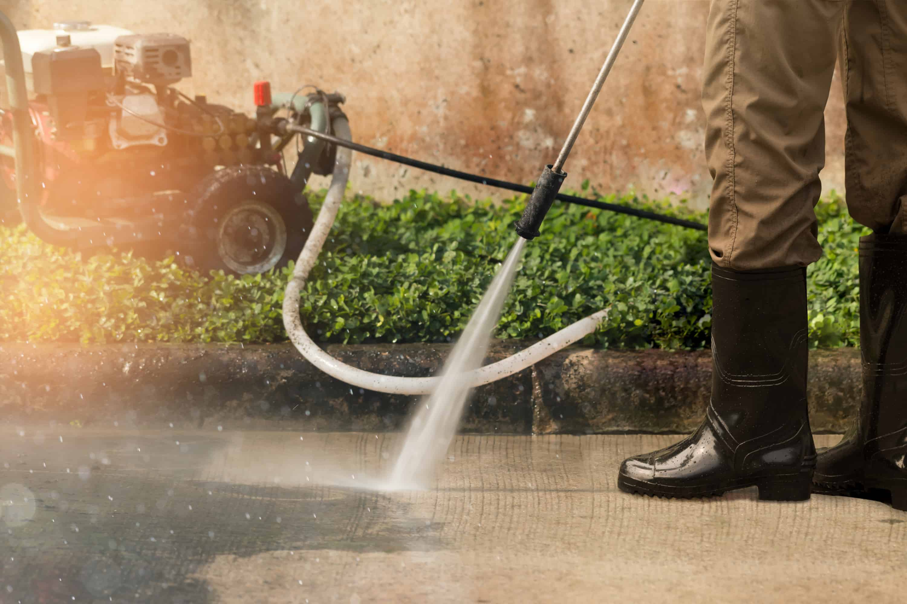 Driveway cleaner Liverpool