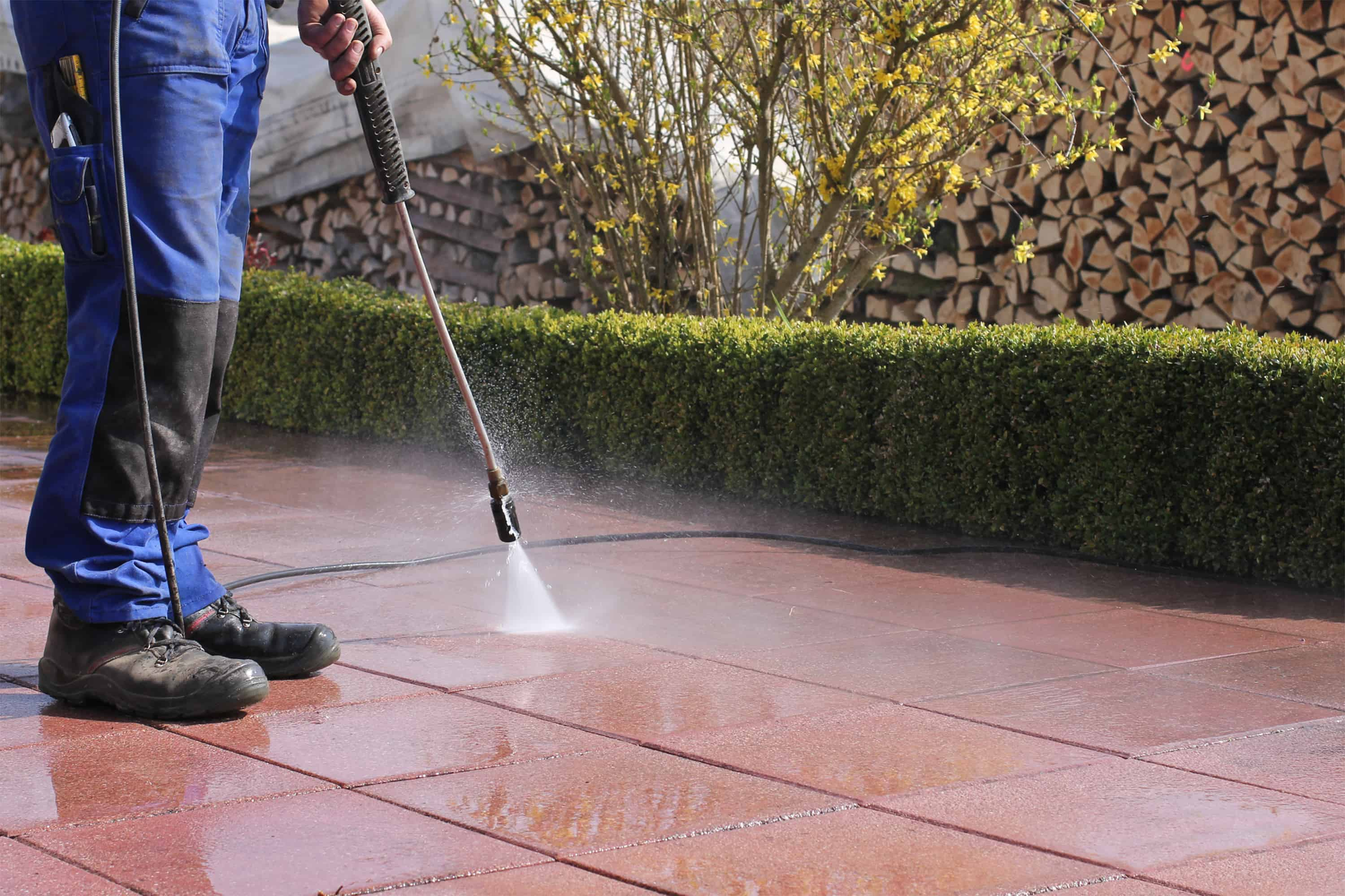 Patio pressure washing Liverpool