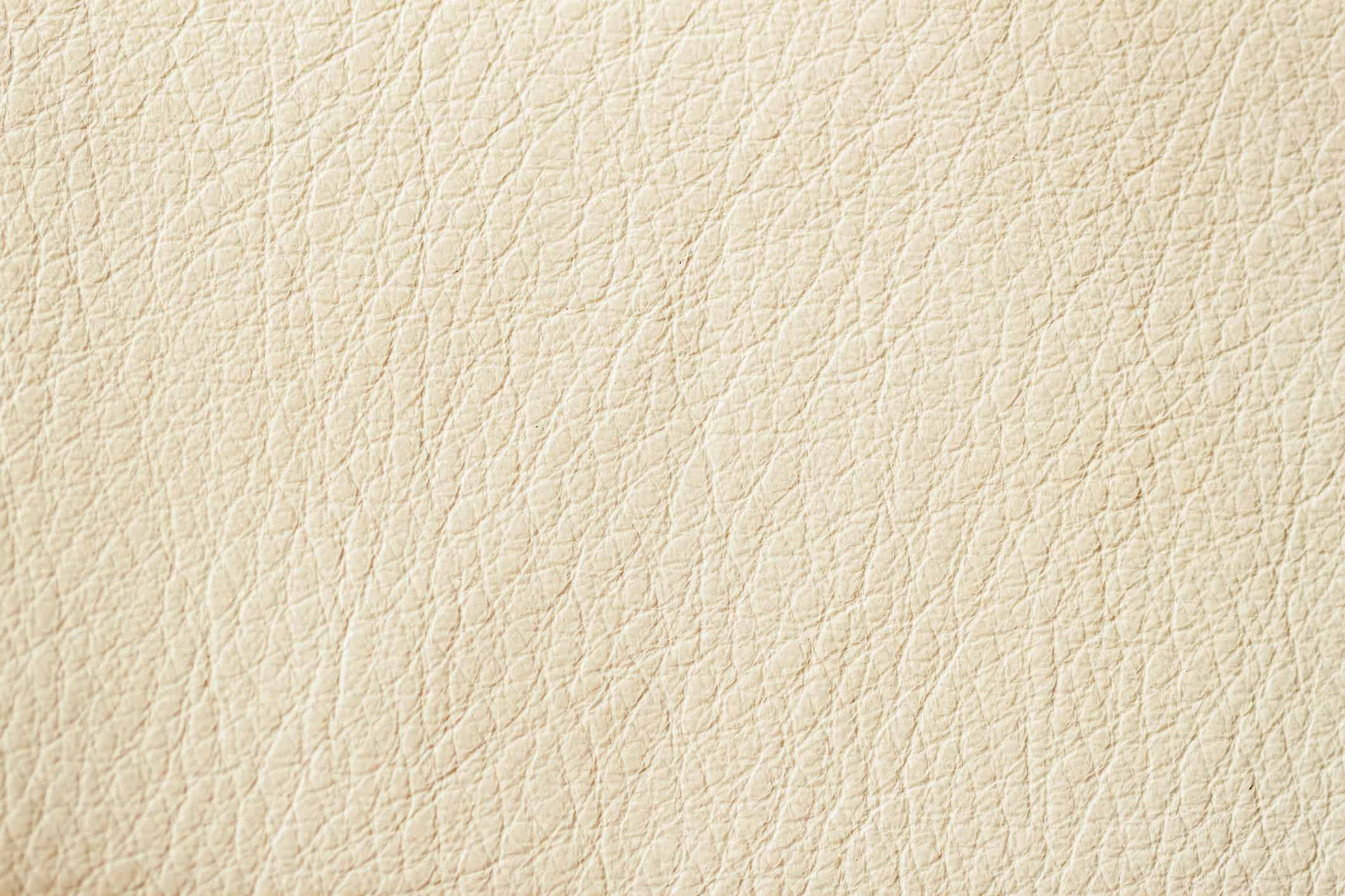 This type of leather is the best to clean and condition.  The leather has been stripped of the animals oils, it is then coloured (usually via a spray) a colour such as white, cream, red etc.  The leather is then covered in a clear lacquer to help protect the suite. In this case, I will use a leather cleaning foam by hand, or mechanically using rotating brushes.  Once clean I add a blend of wax and oils.