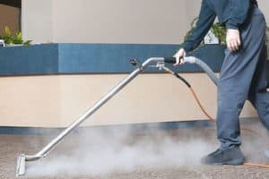 Deep down carpet cleaning