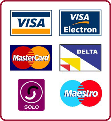 Dirtbusters cleaners accept card payments
