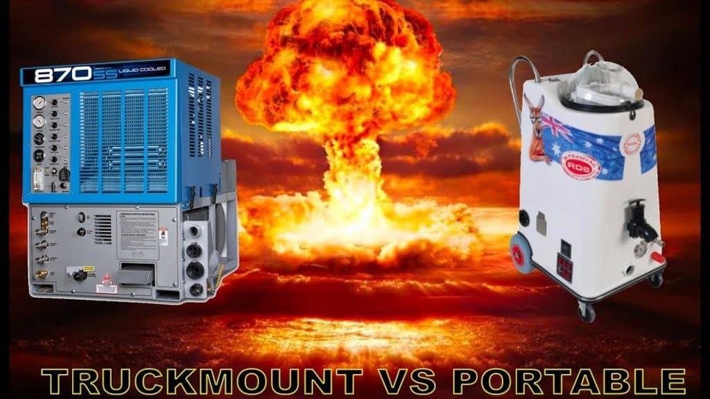 Truckmount or portable machine?