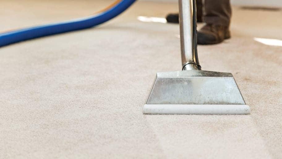 No residue in carpet